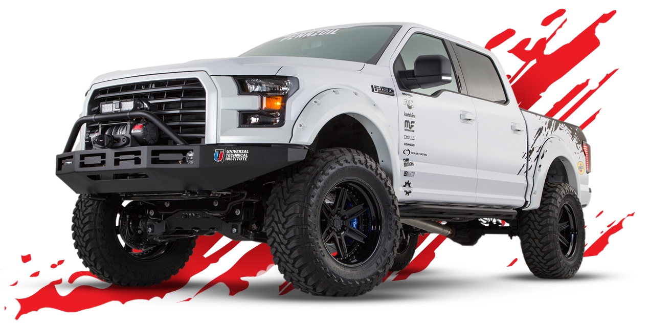 F150 With Led Light Bar 2017 Ford F150 Raven Truck